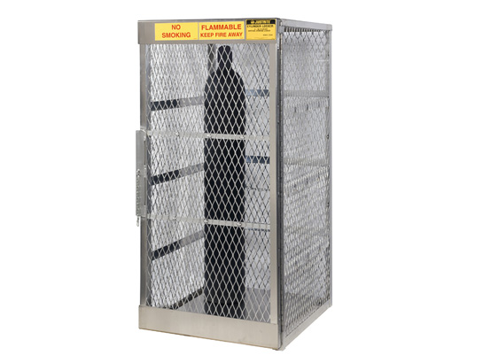 Cylinder Lockers for LPG & Compressed Gas Storage