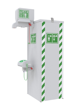 Temperature Controlled Emergency Safety Showers