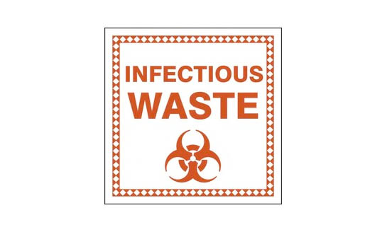 COVID-19 Hazardous Waste Container Labels