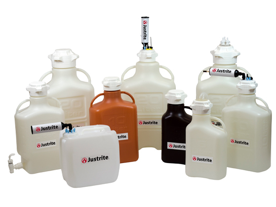 Laboratory Carboys & Solvent Waste Systems