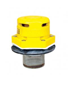 "Polyethylene Vertical Drum Vent for petroleum based applications, Flame Arrester, 2"" bung"
