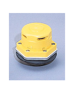 """Polyethylene Vertical Drum Vent for chlorinated solvents, stainless steel, Flame Arrester, 2"""" bung"""