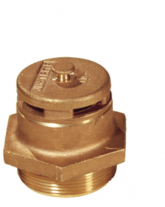 """Brass Vertical Vent For Petroleum Based Applications, 2"""" Bung"""