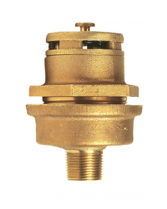 """Brass Vertical Vent Assembly For 3/4"""" Bung"""