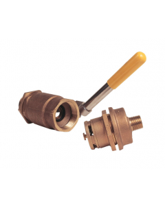 Funnel Tip-Over Protection Kit for use with #08207 or 08205, self-close valve and brass vent