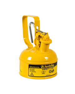 Type I Steel Safety Can with Trigger-handle for Diesel, 1 pint, Yellow - #10011