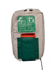 10-Gallon Gravity Fed Eyewash Heated Jacket 120V plug - #10GFEW-BLKT-HT