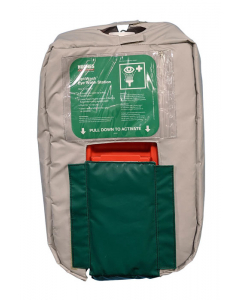 10-Gallon Gravity Fed Eyewash Insulated Jacket - #10GFEW-BLKT