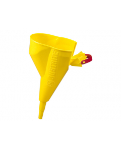 Funnel for steel Type I Safety Cans only, for sizes 1 gallon and above, polyethylene, Yellow - #11202Y