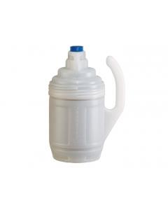 Bottle Jacket For 1 Gallon Glass Chemical Bottles in Laboratory Use, Translucent Polyethylene - #12009