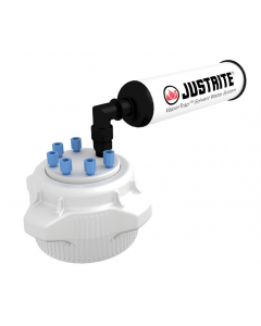 VaporTrap Cap with filter Kit, 83mm cap, 6 ports 1/8'' OD tubing - #12825