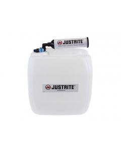 VaporTrap UN/DOT Carboy with filter Kit, 13.5L HDPE, 70mm cap, 4 ports 1/8'' OD tubing, 4 ports 1/4