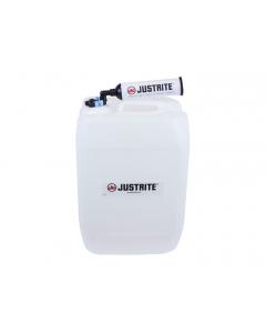 VaporTrap UN/DOT Carboy with filter Kit, 20L HDPE, 70mm cap, 4 ports 1/8'' OD tubing, 4 ports 1/4