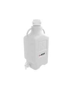 Carboy, 20 L, High Density Polyethylene (HDPE), 83mm cap, with spigot - #12916