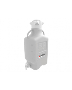 Carboy, 20 L, High Density Polyethylene (HDPE), 120mm cap, with spigot - #12917