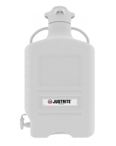 Carboy, 40 L, High Density Polyethylene (HDPE), 120mm cap, with spigot - #12918