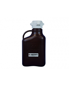 Carboy, 5 L, Polypropylene (PP), Dark Amber, 83mm cap - #12943