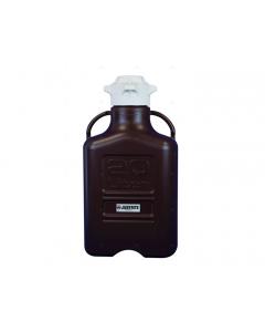 Carboy, 20 L, Polypropylene (PP), Dark Amber, 120mm cap - #12945