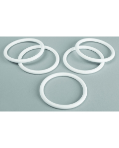 O-Rings for Carboys, Platinum-Cured Silicone, 83mm cap, 5 pack - #12960