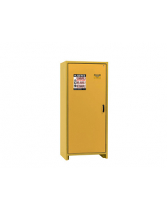 EN Flammable Safety Cabinet, 30-Minute, 30 gallon, 1 hybrid-close door, Yellow - #22601