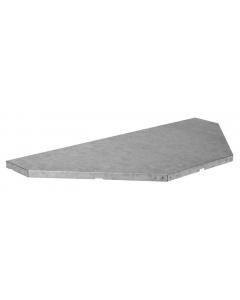SpillSlope® Steel Shelf for Corner Safety Cabinet - #22801