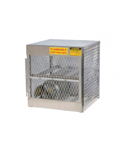 Gas Cylinder Locker for 4 Horizontal 20 to 33 lb. Cylinders - #23001