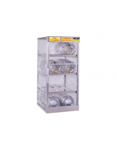Gas Cylinder Locker for 8 Horizontal 20 to 33 lb. Cylinders - #23003
