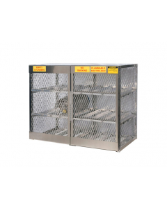 Gas Cylinder Locker for 12 Horizontal 20 to 33 lb. Cylinders - #23004