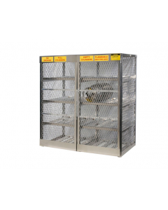 Gas Cylinder Locker for 16 Horizontal 20 to 33 lb. Cylinders - #23005
