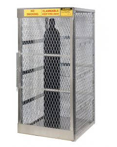Compressed Gas Cylinder Locker for 10 Vertical Cylinders- #23006