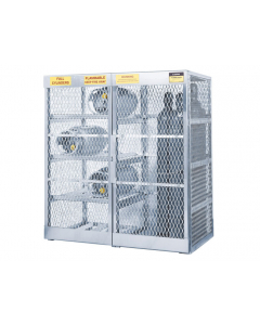 Cylinder Locker for 8 Horizontal or 10 Vertical Cylinders- #23008