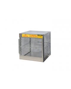 Cylinder Locker for 4 Vertical 20 to 33 lb. Cylinders- #23009