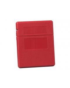 Document Storage Box for SDS sheets, medium-sized, polyethylene, lockable flip-top opening, Single Pack. - #S23303