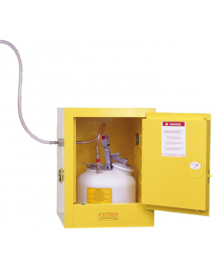 Pass-through Valve can be used on the top, side or back of any safety cabinet, installed - #25969