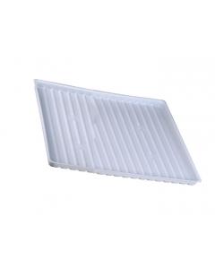 Polyethylene Tray for shelf number 29950 or 15 gallon Under Fume Hood safety cabinet - #25993