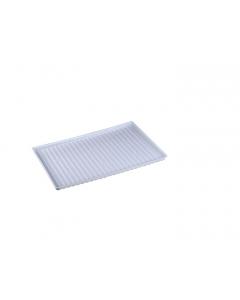 Polyethylene Tray for shelf number 29951 or 19 gallon Under Fume Hood safety cabinet - #25994