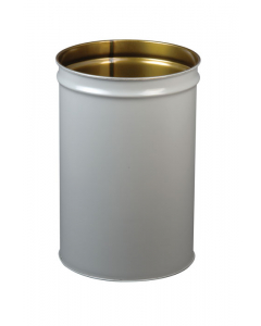 Cease-Fire®  Waste Receptacle, Safety Drum Can Only, 15 Gallon, Gray - #26005