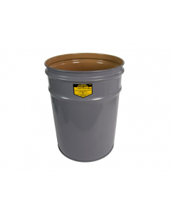 Cease-Fire®  Waste Receptacle, Safety Drum Can Only, 4.5 Gallon, Gray - #26040
