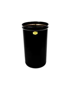 Cease-Fire® Waste Receptacle, Safety Drum Can Only, 4.5 gallon, Black - #26040K