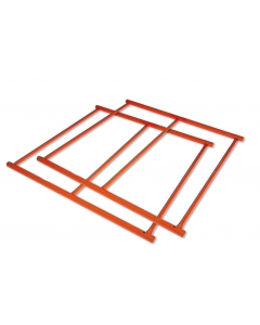 QuietSiteMetal frame kit, 4 ft x 8 ft. - #26468