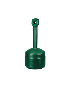 Original Smoker's CeaseFire® Outdoor Ashtray, 4 gallon, Polyethylene, Forest Green - #26800G