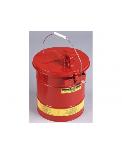 Mixing Tank, Portable, 5 gallon, removable cover w/flame arrester, self-close spout, bonding tab, Steel, Red - #27705