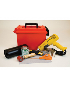 MODIFIED PVC COATED FABRIC REPAIR KIT with heat gun - #28328
