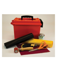 PVC COATED FABRIC REPAIR KIT WITHOUT HEAT GUN - #28329