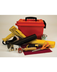 PVC COATED FABRIC REPAIR KIT WITH HEAT GUN - #28330