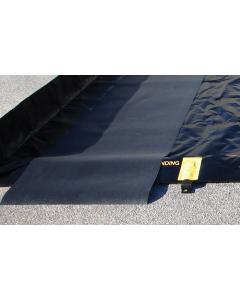 TRACK MAT,  3'W x 56'L, BLACK - #28360