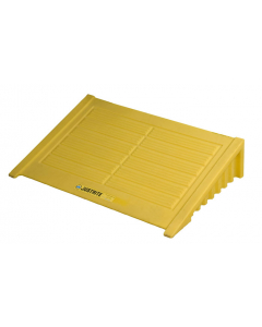 Ramp for 4 Drum Square EcoPolyBlend Spill Control Pallet, polyethylene, Yellow - #28620