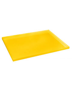 Yellow Polyethylene Tray and Sump for shelf #29945 or 90 gallon safety cabinet - #29058