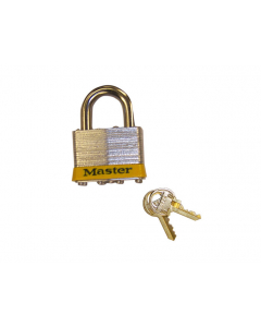 "Padlock Master Lock® No. 5 with 3/8"" shackle for lockable safety cabinets - #29933"