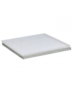 SpillSlope® Steel Shelf with polyethylene Tray for 4 gallon Countertop safety cabinet - #29973